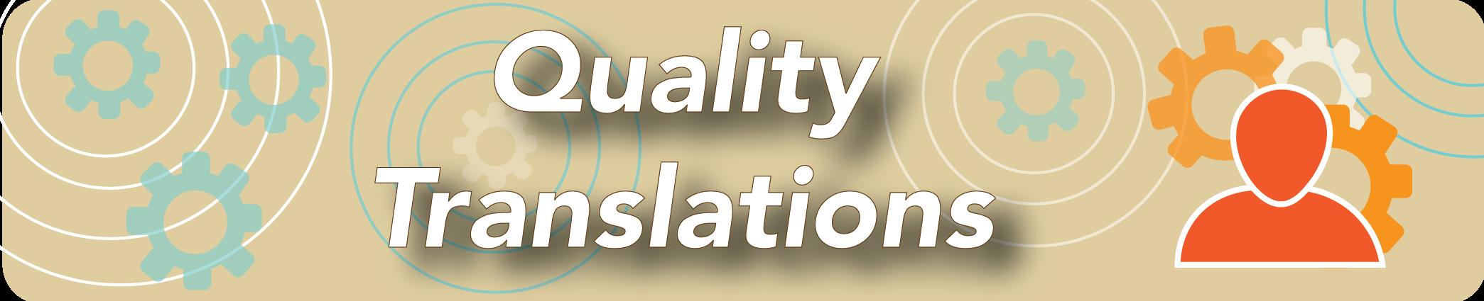 Quality Translations